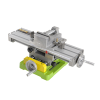 Drill Table Multifunctional Cross Work Table 6350 table machine+Vise woodworking bench for cnc milling machine