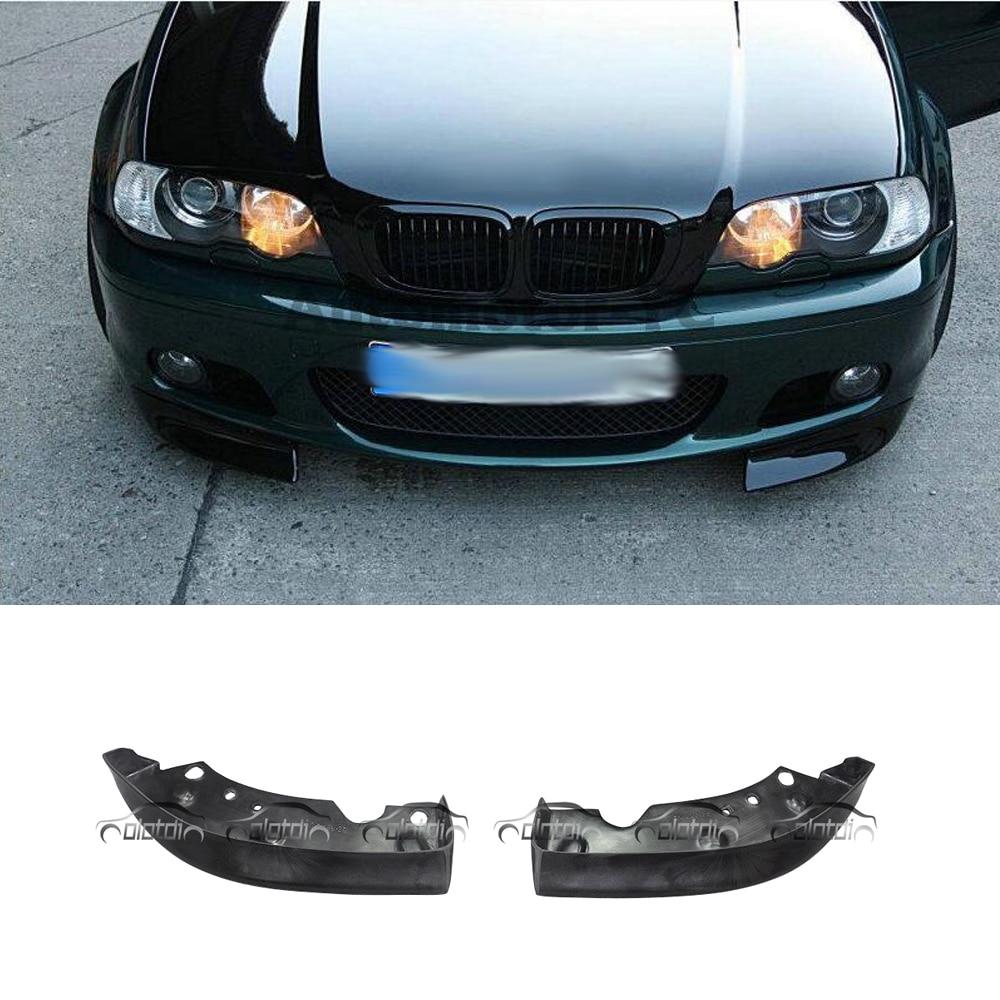 BMW e46 CSL style front lip for msport mtech bumper