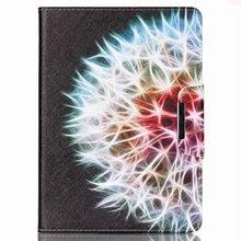 Magic ball pattern pu Leather Flip Case for Apple iPad air1 2 with iPad mini2 3 4 iPad 2 3 4 pro 12.9″ case stand Free Shipping