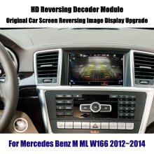 Backup-Camera Rearview Reverse-Reversing W166 Mercedes-Benz for M-Ml Full-Hd
