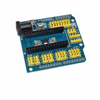 Плата расширения Nano V3.0, макетная плата ввода/вывода, Электрический расширительный модуль для Arduino