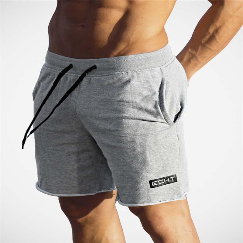 Brand 2017 Men's Compression   Shorts   High Waist Drawstring Loose Summer Beach CasualRunning Breathable Elastic Male   Shorts