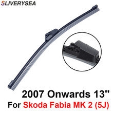 QEEPEI Rear Wiper Blade No Arm For Skoda Fabia MK 2 (5J) 2007 Onwards 13 5 door Hatchback High Quality Iso9001 Natural Rubber