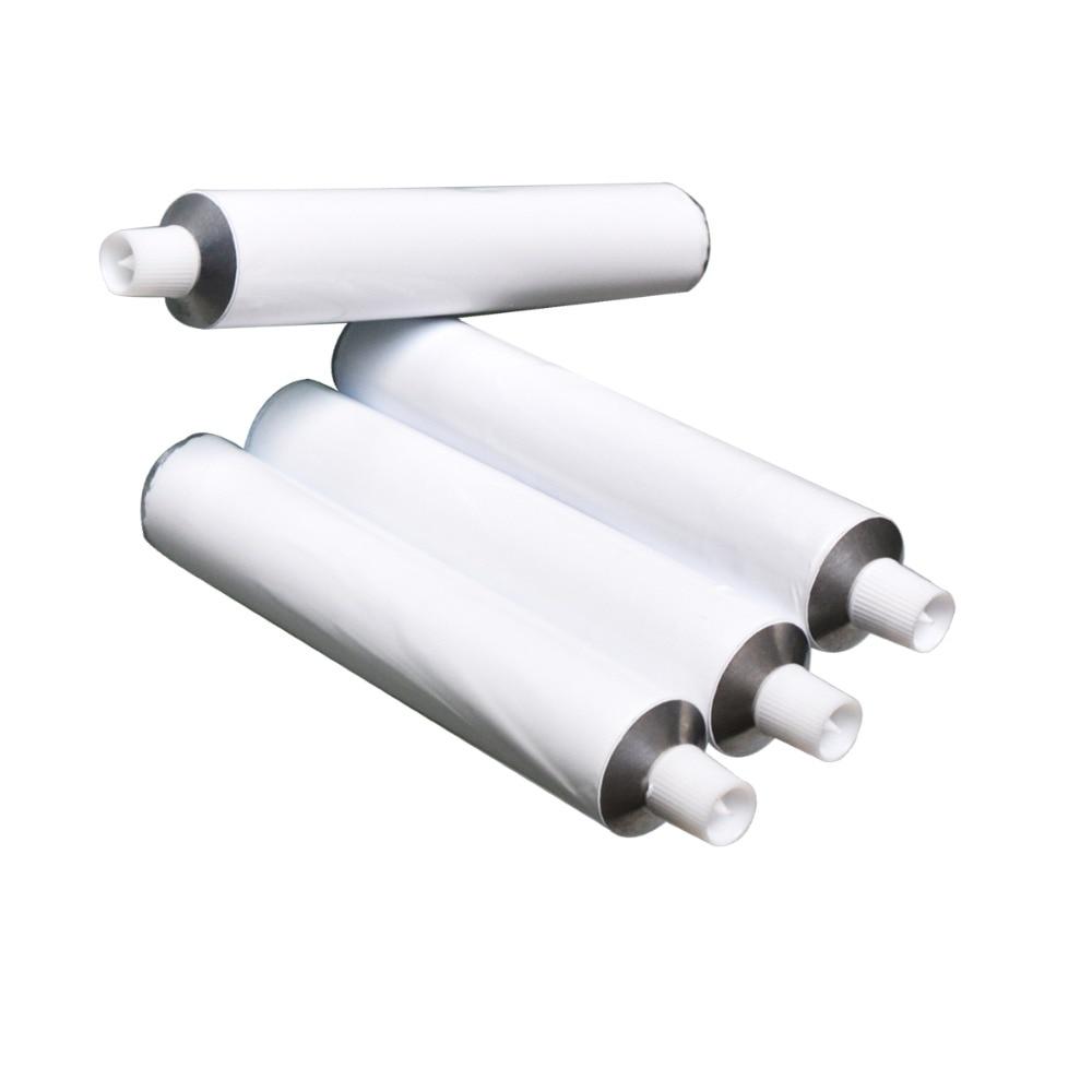 Shitje me shumicë 100 copë 50ml Alumini Tuba pastash dhëmbësh bosh / kapak gjilpërash të pazgjidhura