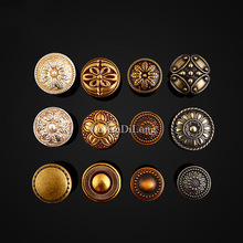 Retro Style 10PCS Solid Zinc Alloy Furniture Handles European Antique Cupboard Wardrobe Drawer Cabinet Door and Knobs