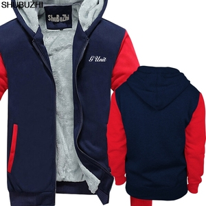 Image 5 - winter thick hoodies New G Unit 50 Cent Rap Hip Hop Logo Mens Black hoodie S 5XL Premium Mens winter jacket coat sbz1465