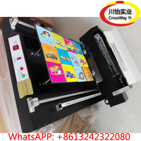 DTG T shirt Printer with LED UV lamp drying