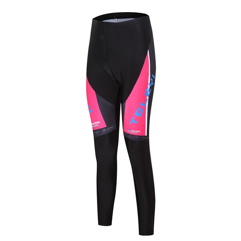 Ženske kolesarske hlače Pro kolesarske hlače črne športne MTB - Kolesarjenje - Fotografija 6