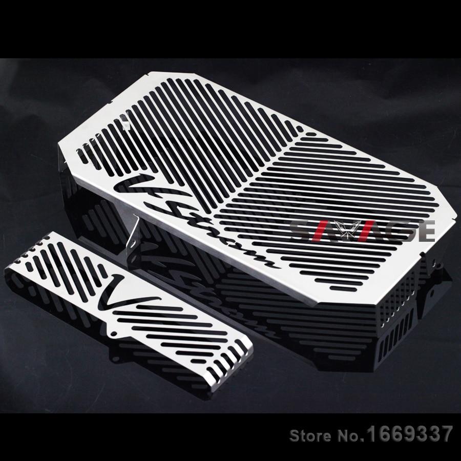 Protecteur de refroidisseur d'huile de garde de Grille de radiateur pour SUZUKI DL650 DL 650 v-strom 2004-2010 05 06 07 08 Protection de réservoir de carburant de moto