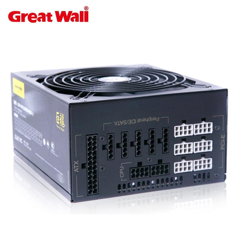 Great Wall 100-240V 1560W computer Power supply Full Modular 12 PCS 6+2pin GPU Ports For BTC LTC ETH ANS SC Mining 6 GPU cards стул дуакс sc 3060hq ans 12 9