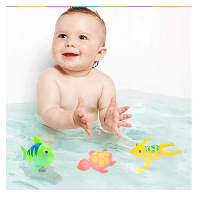Маленькие заводные игрушки, день рождения, сюрприз для детей, Детский бассейн, детские игрушки для воды, рыбы, для черепах и лягушек, игрушка от ветра