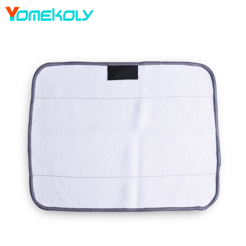 1PC Dry Microfiber Sweeping Mopping Cloths for iRobot Braava 380t 320 Mint 4200 5200C Robotic Vacuum Cleaner Parts 12pcs wet cloths for braava replacement washable pro mopping cloths for irobot braava vacuum cleaner 380t 320 mint 4200 5200