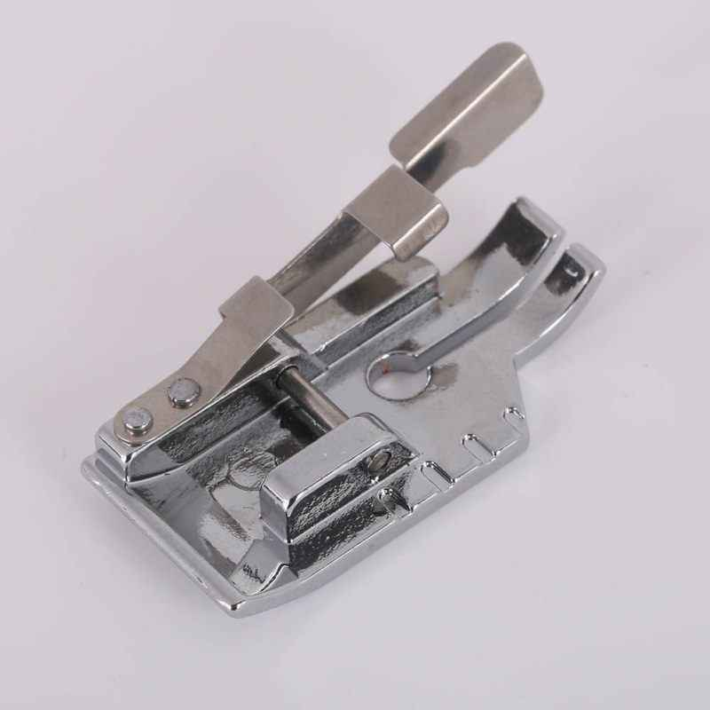 1/4 Inch Guide Silver White Metal Snap On Quilting Patchwork Foot Sewing Machines Sewing Tools