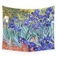 COCOHouse Vincent Van Gogh Irises Wall Tapestry