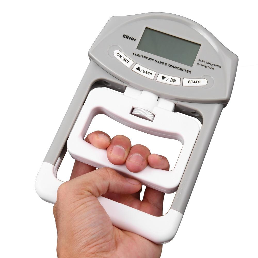 Hand Grip Power Gym Equipment Grip Exerciser Strength Muscular Training Dynamometer Digital Display Measures chang sheng cs fwc rubber foam power strengthener wrist forearm exerciser gym black