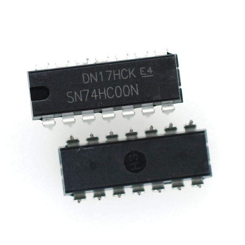 10PCS 74HC02N DIP14 74HC02 DIP SN74HC02N New and Original IC