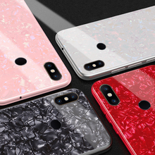 Tempered Glass Case for Xiaomi Mi Mix 2S Mix2S Flashing shell Hard Back Cover Soft TPU Silicone Bumper On For Xiaomi Mix 2S Case for xiaomi mi mix 2s case mix2s cover silicone frame classic deer pattern fabric back cover for xiaomi mi mix 2s case