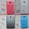 For Meizu M2 Mini Back Cover Battery Door Rear Housing Case Cover For Meizu M2 Mini 5.0 Inch MTK6735 Quad Core ;2PCS/LOT