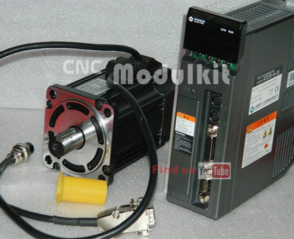 Servo Motor System : Cnc modulkit ac servo control system w motor nm