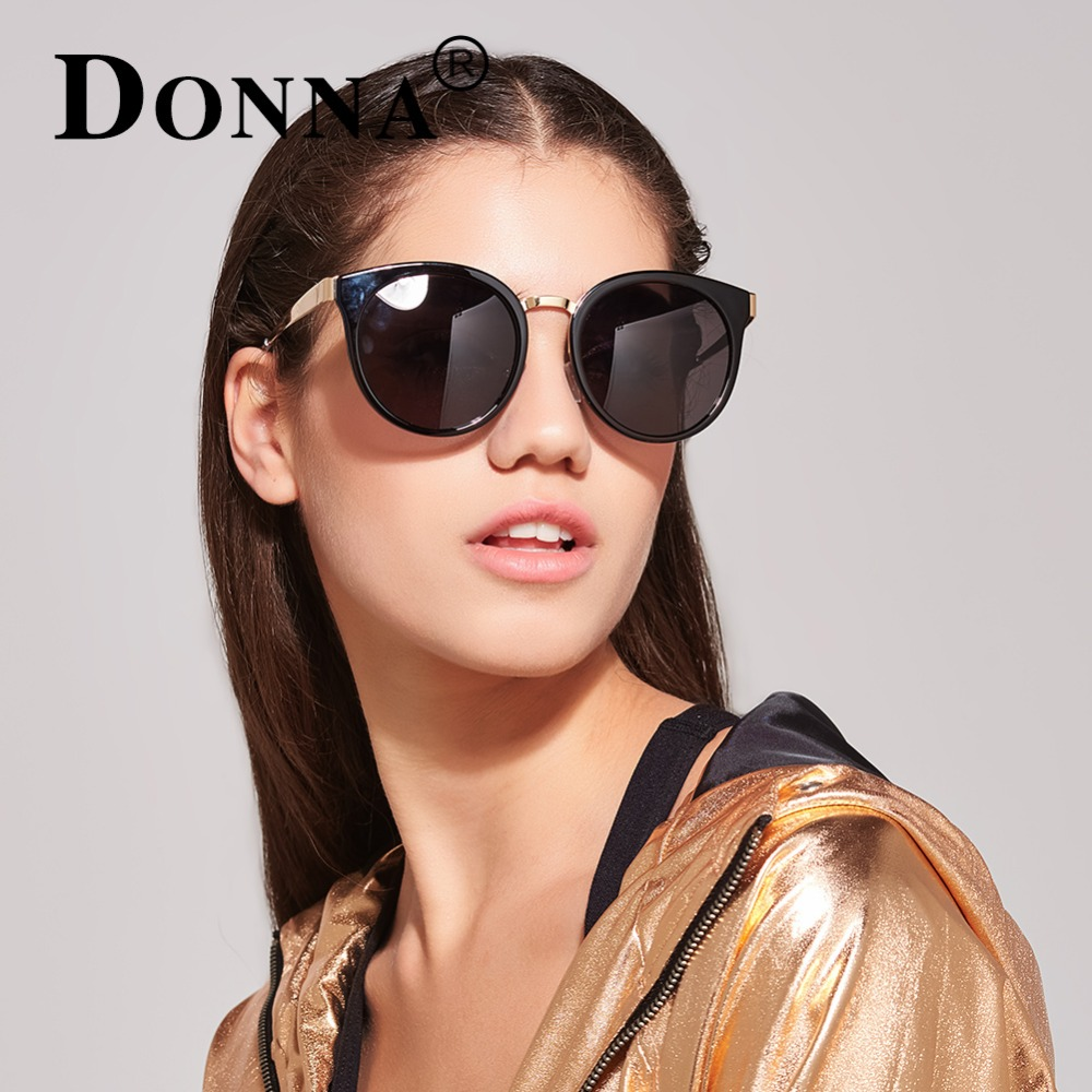 DONNA Brand Designer font b Fashion b font Sunglasses font b Polarized b font Women Cat