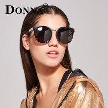 DONNA Brand Designer Fashion Sunglasses Polarized Women Cat Eye Round Ladies Luxury  Retro  Shades Sunglasses D31