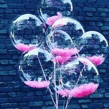 5 шт. 10/18/24 дюймов фотографический фон без складок с изображением света прозрачный купол воздушные шары с гелием, прозрачная обувь из ПВХ на д...