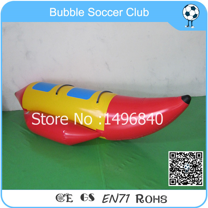 Free Shipping 2 Person Customized Inflatables Banana Boat PVC Inflatable Water Park Banana Boat funny summer inflatable water games inflatable bounce water slide with stairs and blowers