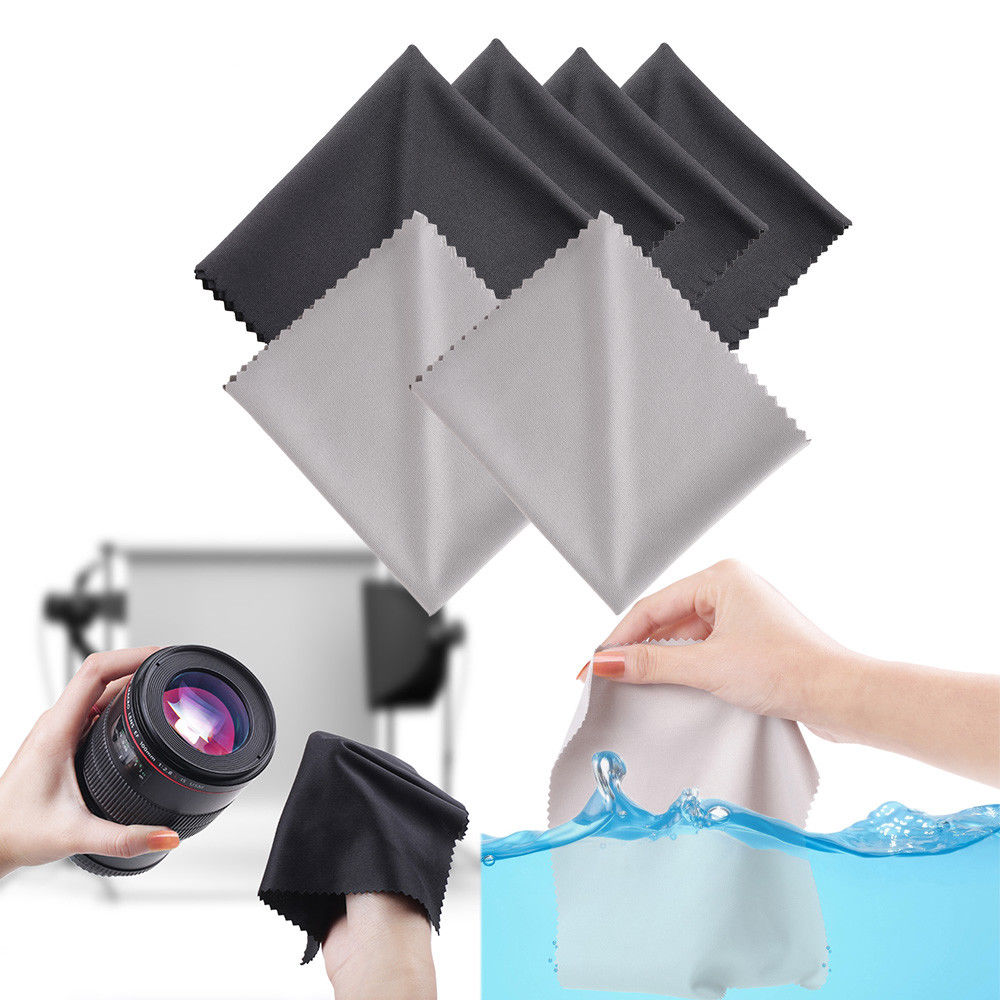 3m Microfiber Lens Cleaning Cloth Pack Of 10: 10 Pack Premium Microfiber Cleaning Cloth For Camera Lens