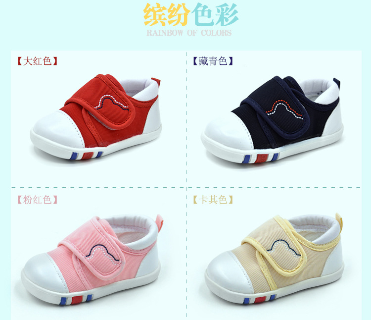 Spring Newest Baby First Walkers Shoes Breathable Autumn Canvas Boys Girls Infant Soft Sole Anti-slippery Warm Toddler Shoes (9)