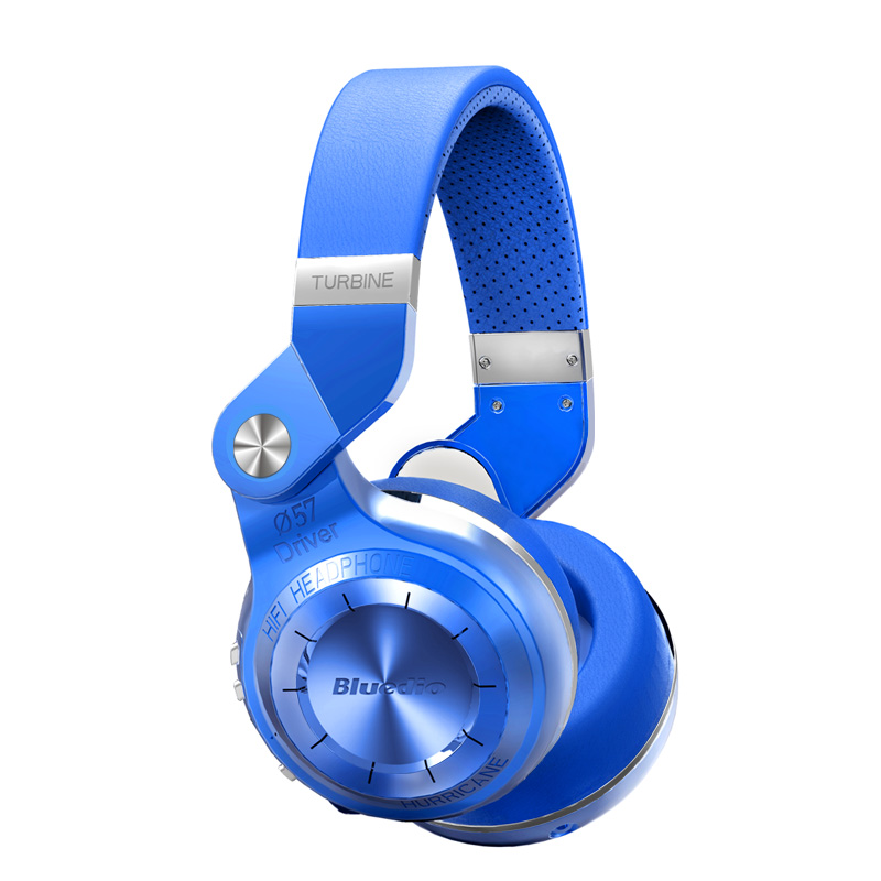 Headphone Bluedio T2s Bluetooth 4.1 headphones Shooting Brake Stereo wireless Earphone over the Ear with Mic