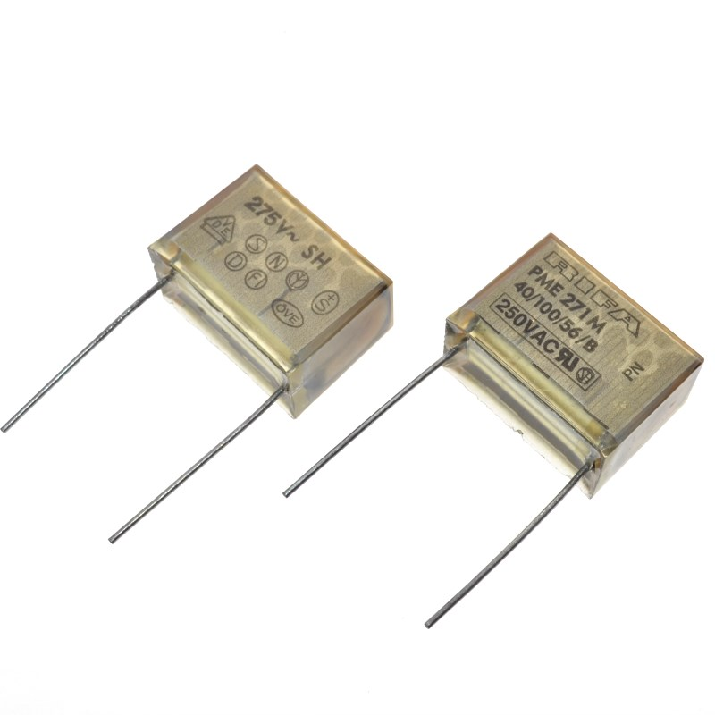 PME271M647KR30 470NF 275V 470N X2  EMI Suppressor Metallized Paper CAP FILM 0.47UF 10% 275VAC