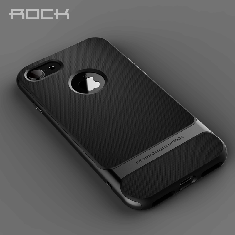 for iphone 6 7 case ROCK Original Royce Hard PC+Soft TPU Silicone Case Luxury Back Cover Phone Cases for iphone 6s 6plus 6s plus