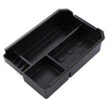 Car Armrest Box Central Secondary Storage Box Center Glove Phone Holder Container Tray For Toyota RAV4 RAV 4 2013 2014 2015 2016