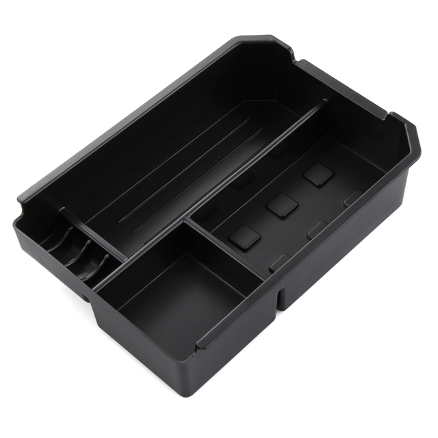Car Armrest Box Central Secondary Storage Box Center Glove Phone Holder Container Tray For Toyota RAV4 RAV 4 2013 2014 2015 2016