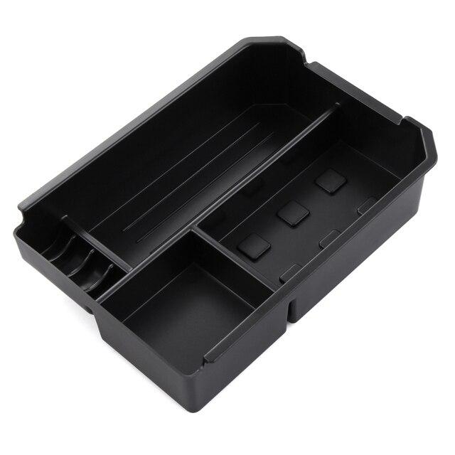 Compartimento de reposabrazos para coche almacenamiento secundario, guantera Central, soporte para teléfono, bandeja contenedor para Toyota RAV4 RAV 4 2013 2014 2015 2016