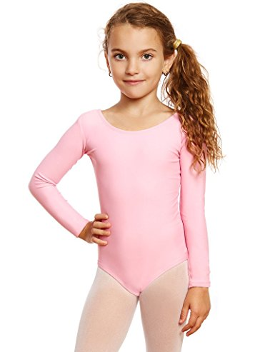 597ec64f41b8 LZCMsoft Girls Long Sleeve Leotards Ballet Dance Gymnastics Unitards ...