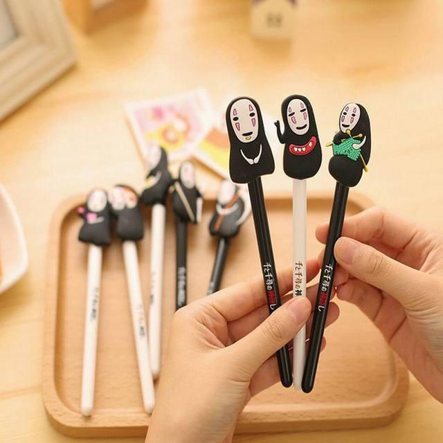 Wholesale 500PCS New Arrival Japan Hayao Miyazaki Cartoon Gel Ink Pen Promotional Gift