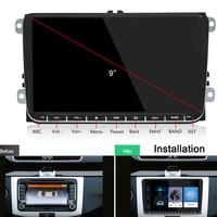 Car Multimedia Player Radio Android 2Din For VW Volkswagen Passat Car DVD Player for Skoda Octavia Golf tiguan Touran gps navi