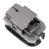 EDFY 6554.WA Electric Power Fenster Switch Mirror Button Steuerung Fit für PEUGEOT 206 306 Schwarz