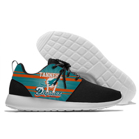 Sport Shoes Dolphins football players Alonso Amendola Fitzpatrick Marino Parker Tannehill Wake Shoes light weight from Miami
