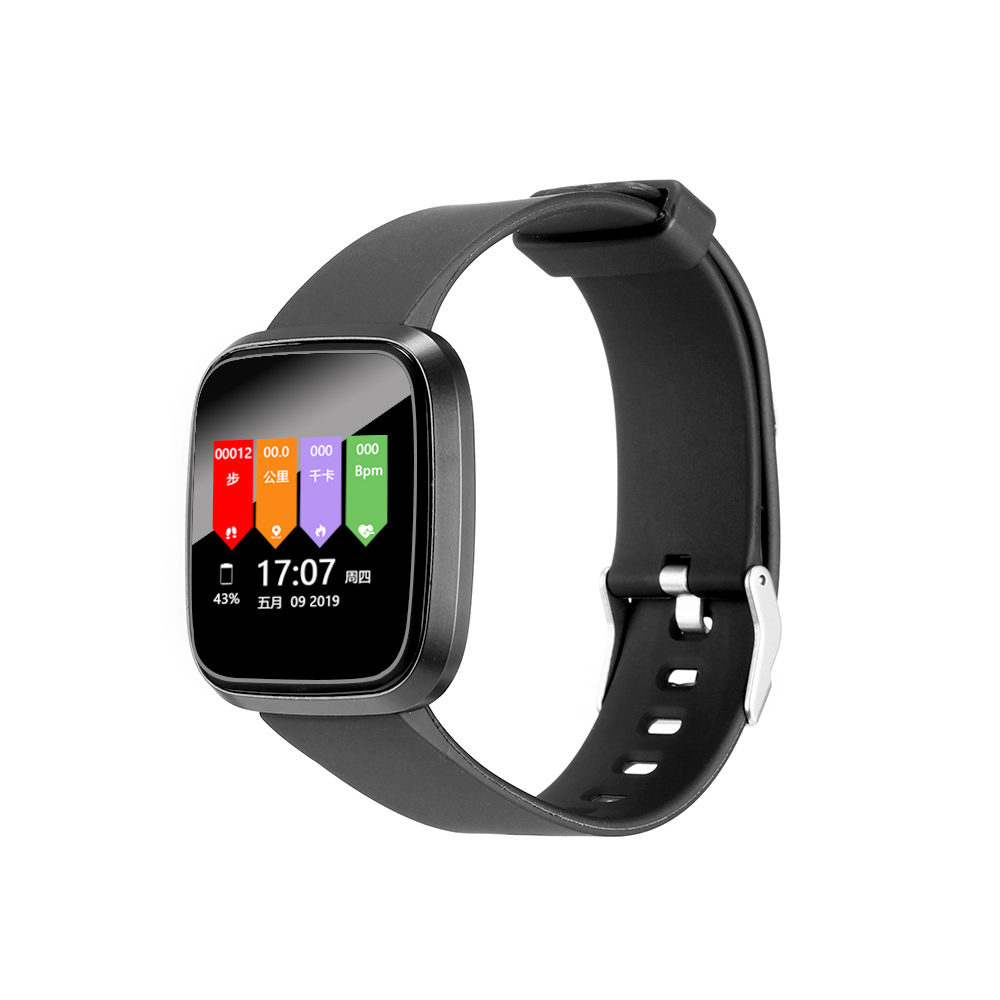 Intelligent Bracelet Waterproof Motion Gauge For Heart Rate And Blood Pressure Monitoring Smart Wristband