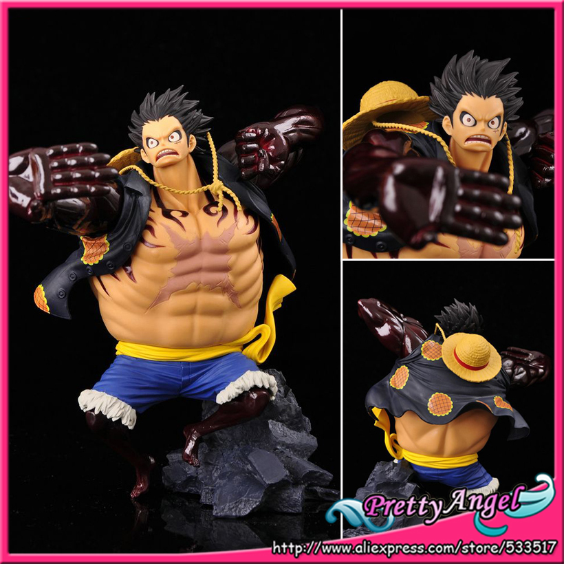 Banpresto One Piece SCultures Figure Colosseum Champion 2014 Gear Fourth Luffy