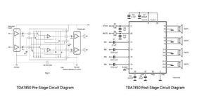 Image 5 - 50W * 4 TDA7850 רכב 4 ערוצים 12V גדול כוח ACC אודיו דיגיטלי מגבר לוח