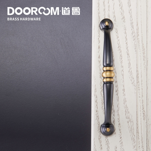 Charmant What Makes American Door Handle Solid Copper Wardrobe Door Drawer Copper  Handle Double Mediterranean Style Solid