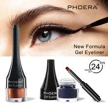 PHOERA Pigment Gel Eyeliner Matte Tint Долговечная водостойкая косметика Легкая в использовании подв Лучший!
