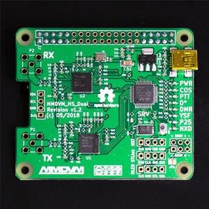 Image 4 - Finished 2019 V1.3 MMDVM_HS_Dual_Hat Duplex Hotspot + Raspberry pi zero W +OLED +Antenna + 16G SD card + metal Case