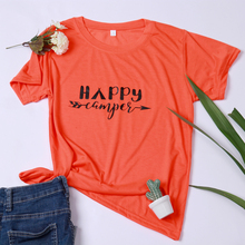 2019  women t-shirt be the light letter casual printed printing graphic tees shirt female tee tee tops недорого