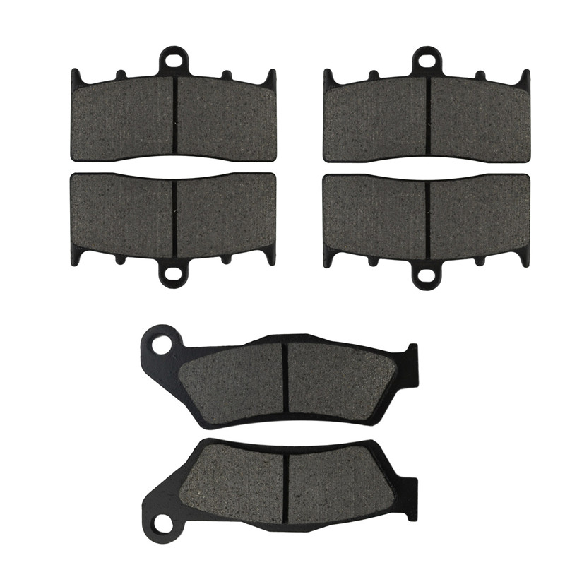 Motorcycle Parts Front & Rear Brake Pads Kit for BMW R1150R 2001-2006 R1200R R1200 R 1200 R 2007 2008 Metal & Brass Alloys car styling top mount hardtop rear grab handle bar front rear interior parts metal for jeep wrangler 2007 later