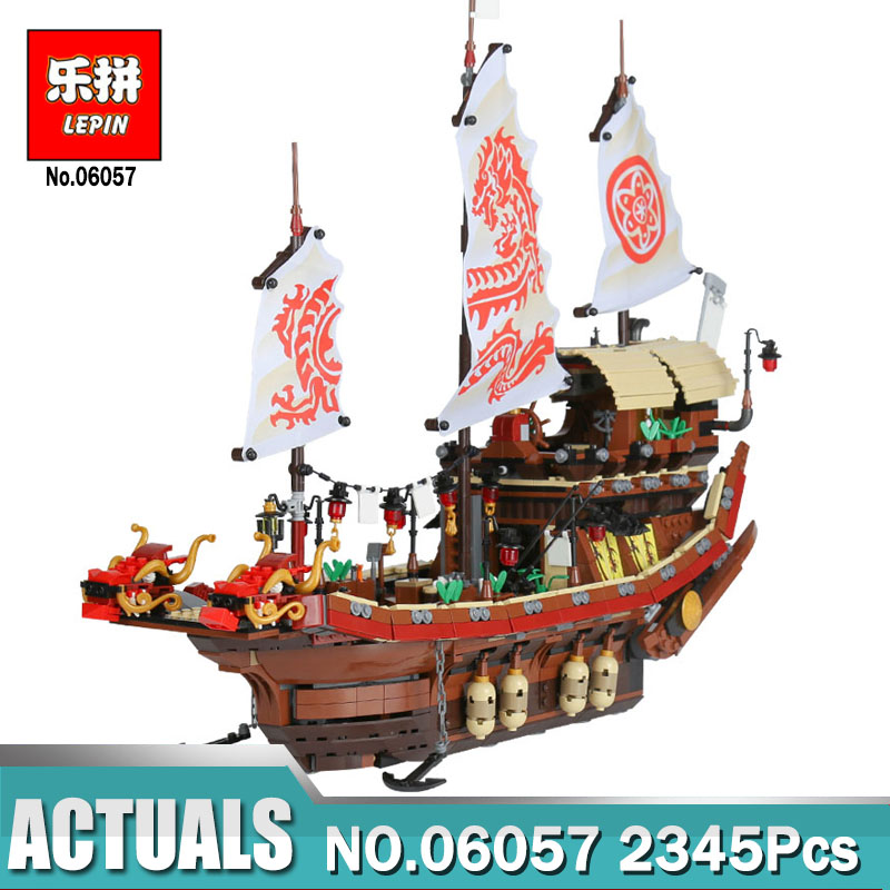 Lepin 06057 Boat Series The Destiny`s Bounty Set Compatible Legoing 70618 Children Building Blocks Bricks Educational Toys Gift new lepin 16009 1151pcs queen anne s revenge pirates of the caribbean building blocks set compatible legoed with 4195 children