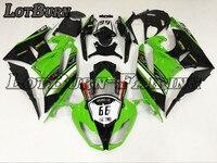 На заказ мотоцикл обтекатель комплект подходит для KAWASAKI ZX6R 636 ZX 6R 2009 2012 09 12 обтекатели ABS обтекатель комплект впрыска